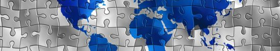 continents, puzzle, world
